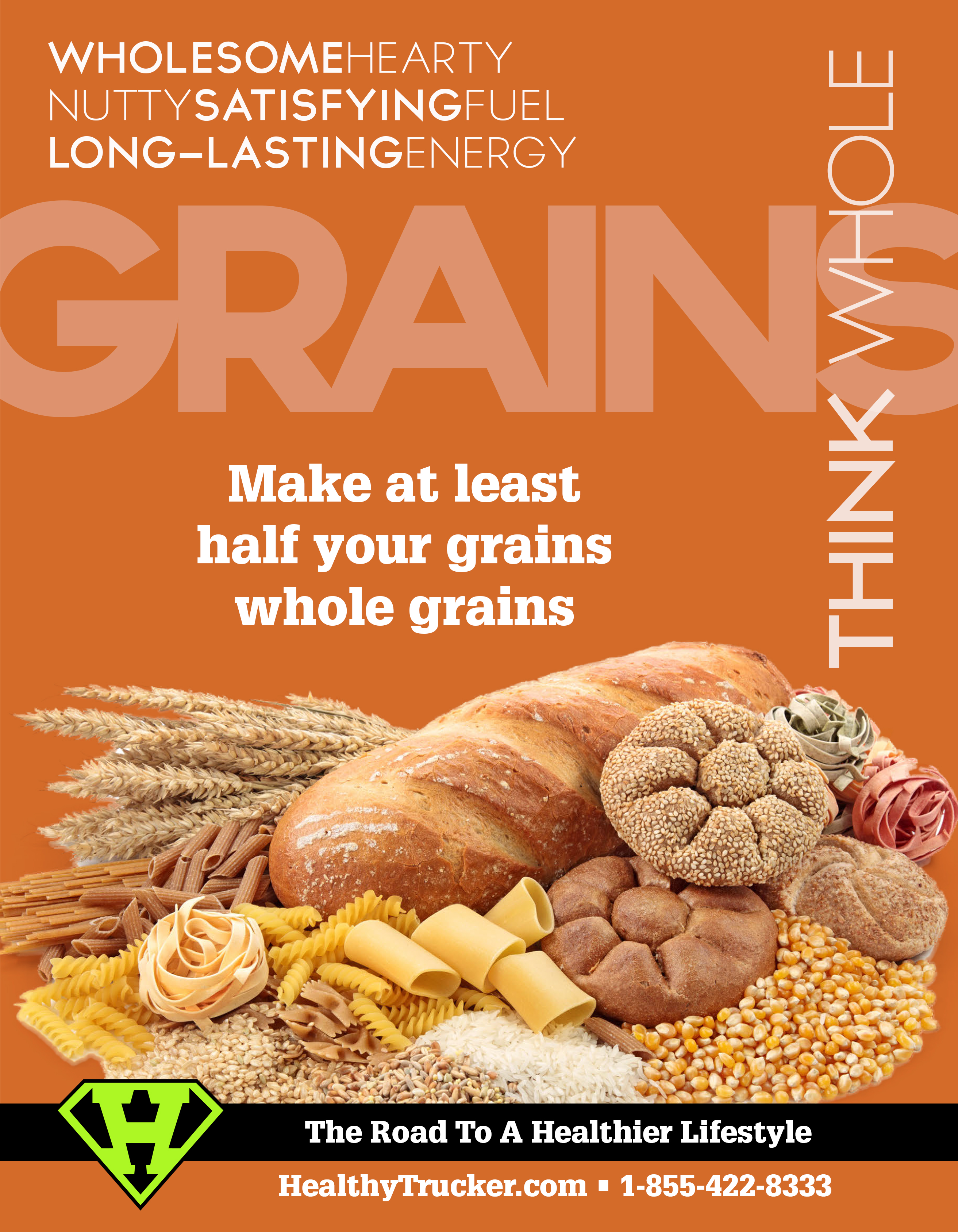 Healthy Grains Poster