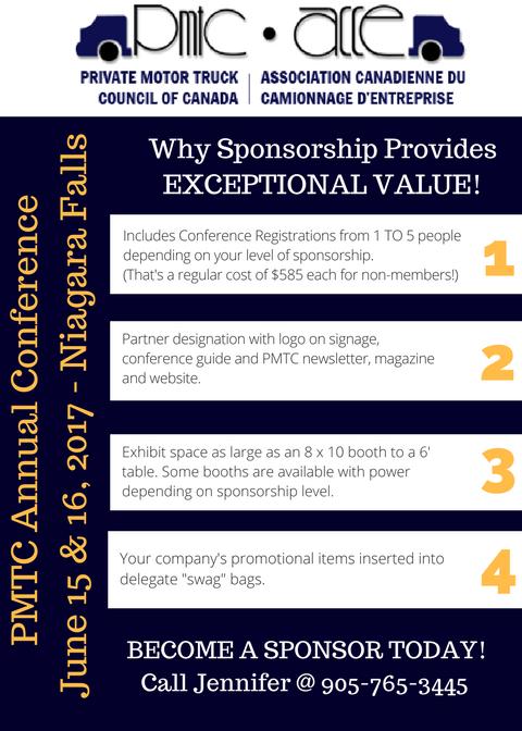 PMTC Sponsorship